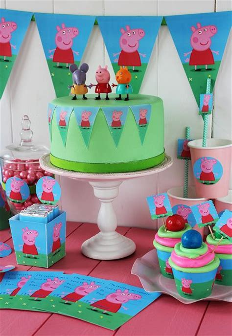 printable peppa pig party decorations peppa pig party decoration ideas peppa pig party