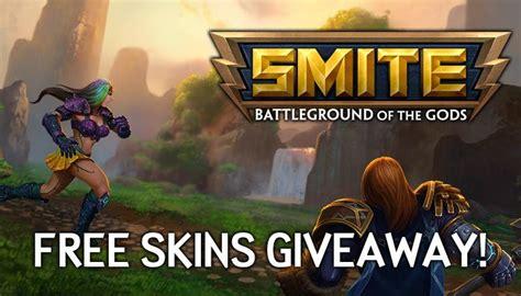 Free Skin Giveaway - free skins giveaway smite mmorpg com