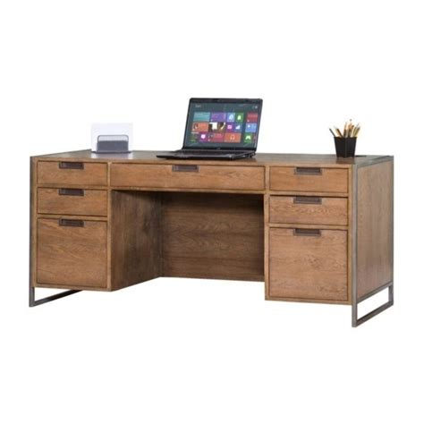 rustic home office desks kathy ireland by martin belmont credenza rustic wire