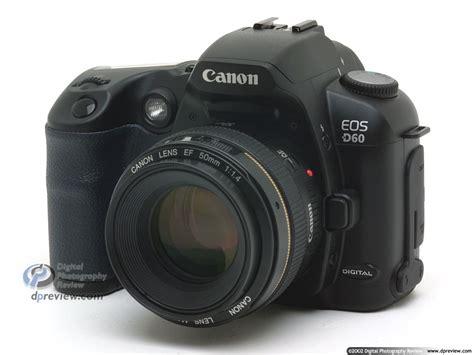 d60 canon canon eos d60 6 megapixel d slr digital photography review