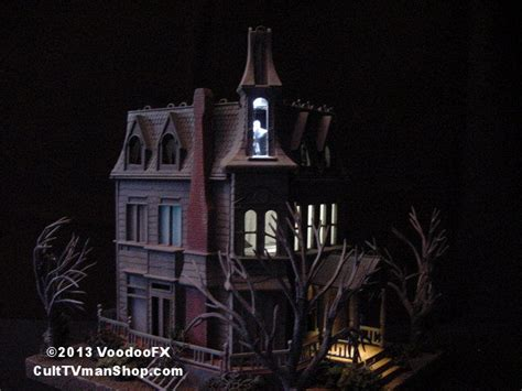 adams family house randy neubert s lighted addams family house culttvman s fantastic modeling