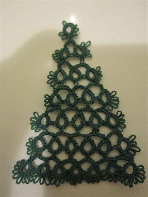 christmas tree tatting pattern 17 best images about tatting christmas tree on pinterest