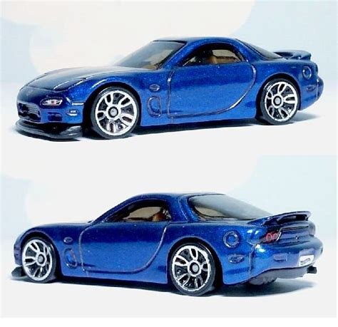 Wheels 95 Mazda Rx 7 Rx7 Hotwheels Biru Hw Blue でぞう on quot wheels mazda rx 7 95 mazda rx 7 製品