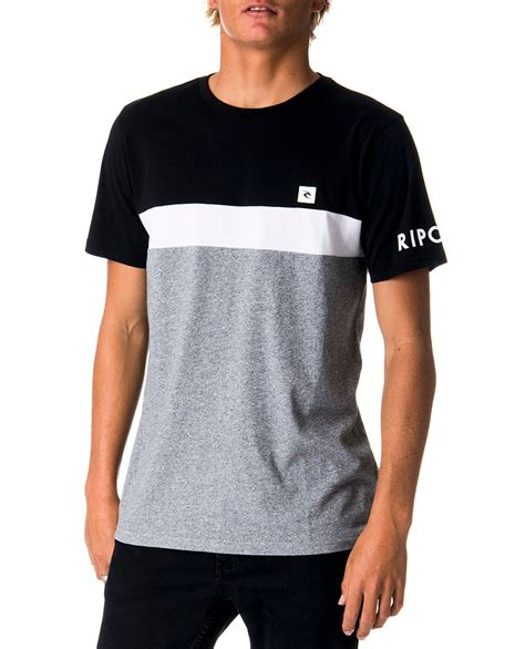 Panel Shirt underline panel t shirt mens t shirts surf