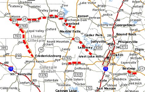 road map of central texas texasfreeway gt statewide gt photo gallery