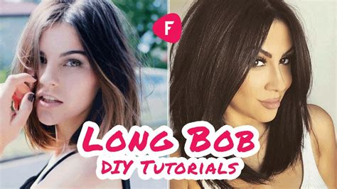 how to cut a lob how to cut your own hair long bob diy tutorials