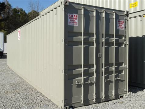 storage container rental prices 40 storage container for rent atlas sales leasing