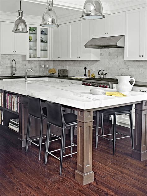Kitchen Island Breakfast Bar Ideas 16 Great Design Ideas For Kitchen Islands With Breakfast Bar Style Motivation