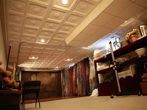 Creative Drop Ceiling Ideas Category Faux Tin Ceiling Decor Size 24 X 24