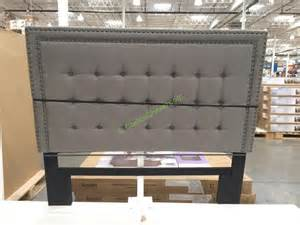Bed Frames At Costco Bayside Furnishings Upholstered Headboard 2 Styles