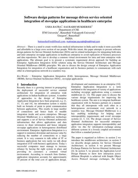 design application publication software design patterns for message pdf download