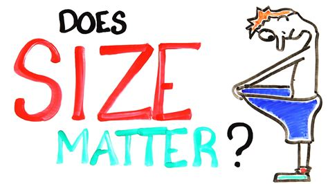 does size matter in bed does penis size matter youtube