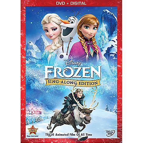 film frozen sing along frozen sing along edition dvd movies disney store