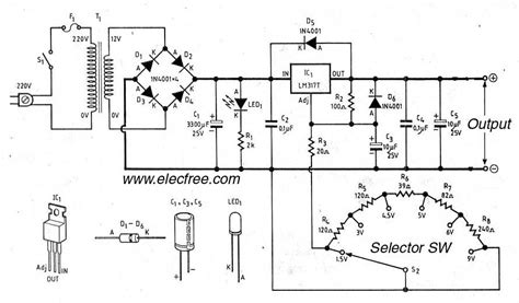 transistor como resistor variavel fonte vari 225 vel de bancada usando lm317