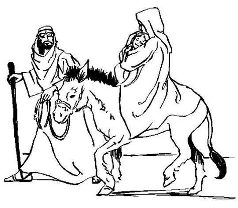 holy family coloring pages