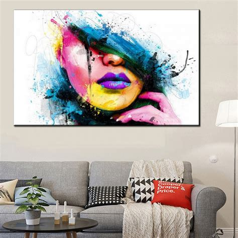 decor painting fashion 60x80cm large wall art canvas painting modern sexy