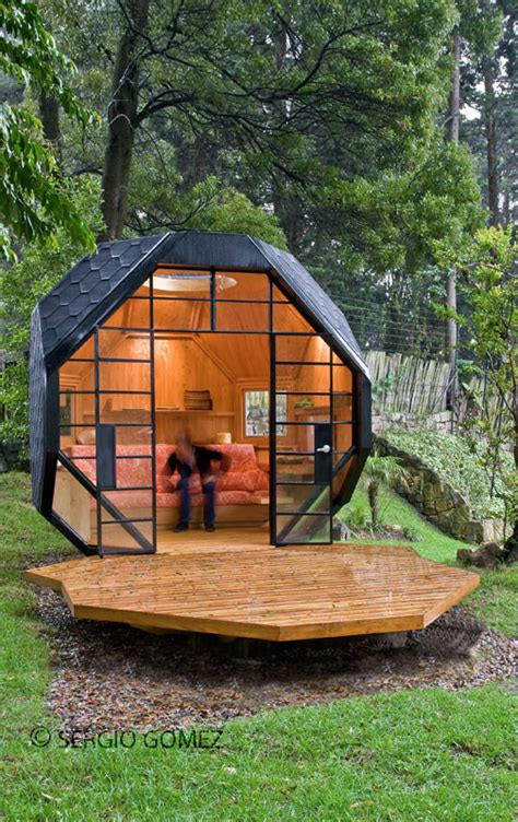 cool backyard cool child playhouse in a back yard polyhedron habitable
