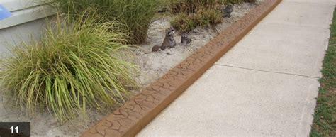 Decorative Border Edging by Image Gallery Sidewalk Borders