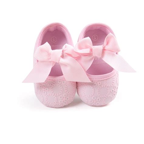 new toddler baby shoes non slip bowknot princess shoes