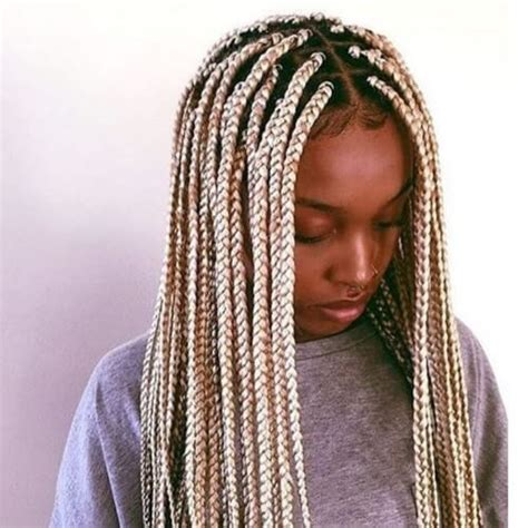 large black and blond braids 50 glamorous ways to rock box braids hair motive hair motive