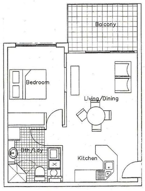 apartments  bedroom floor plan palm cove tropic boutique accommodation