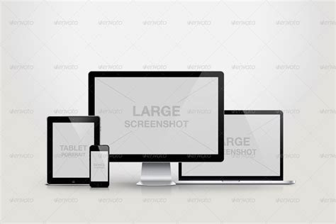 responsive design mockup pack responsive screen mockup pack by agentvip graphicriver