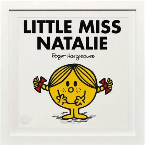 little miss natalie personalised print selfridges le blow