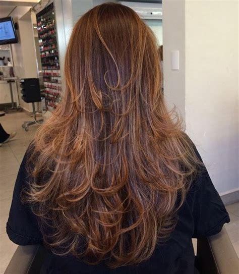 cutting thinning hair interior layers 80 cute layered hairstyles and cuts for long hair in 2017