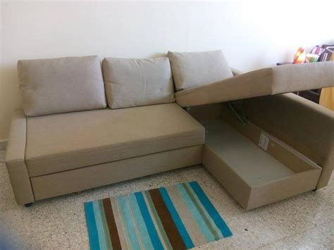 ikea l shaped sofa bed dubizzle abu dhabi sofas futons lounges reduced