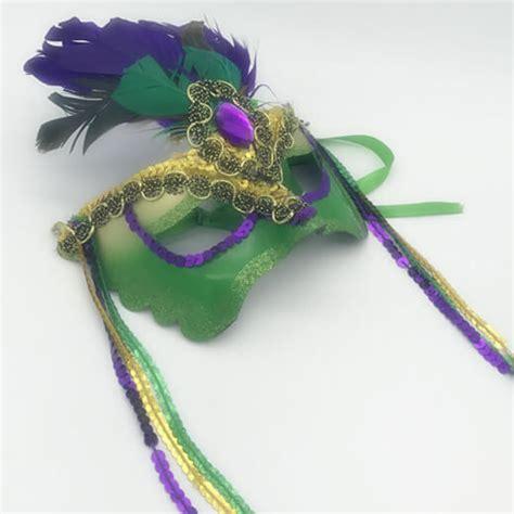 mardi gras bulk wholesale masks mardi gras pgg color burst mask