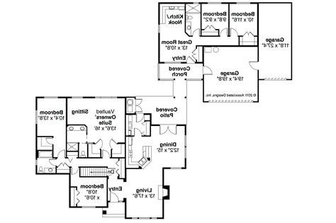apartment house plans with apartment attached luxamcc
