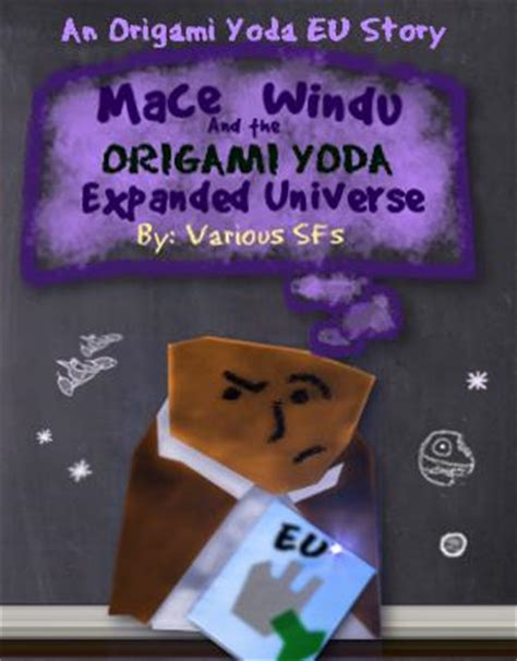 Origami Yoda Book Series - mace windu and the origami yoda expanded universe