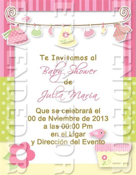 baby shower de dinero tarjetas de invitacion baby shower ni 241 a epvendedor bs