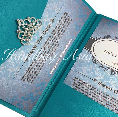 3 fold wedding invitations wedding three fold invitation handbag asia luxury