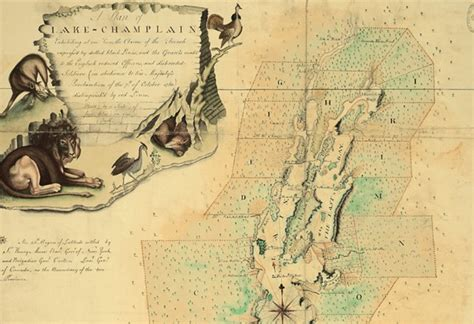 maps telling their untold stories the national archives blog a new book on old maps regards lake chlain and lions live culture