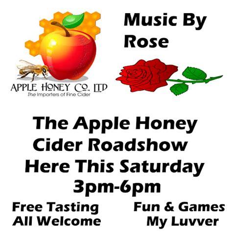 scow cider inspire pattaya apple honey cider road show at pandora