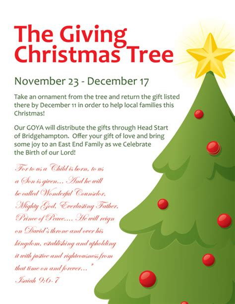 greek orthodox church of the htons giving christmas tree