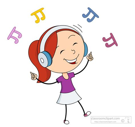 clipart musica listening to clipart clipartxtras