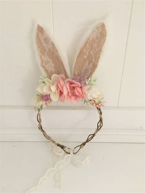 Rabbit Headband 380 best headbands bows crowns images on creativity exploring and floral crowns