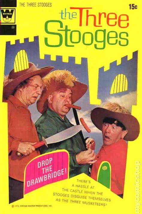 all three stooges books three stooges 1971 whitman comic books