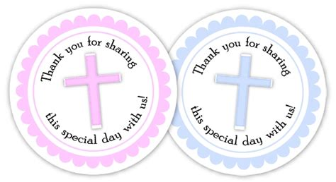 printable thank you tags for baptism 7 best images of baptism favor tags free printable free