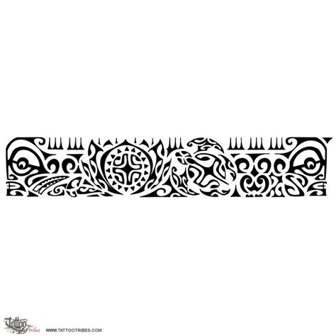 polynesian wristband tattoo designs hawaiian armband design