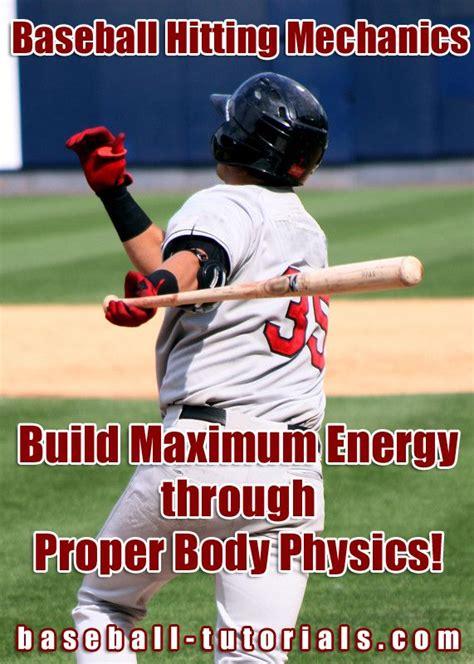 baseball swing mechanics baseball hitting mechanics play ball pinterest