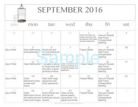 printable and editable calendar 2016 free editable printable september 2016 cleaning calendar