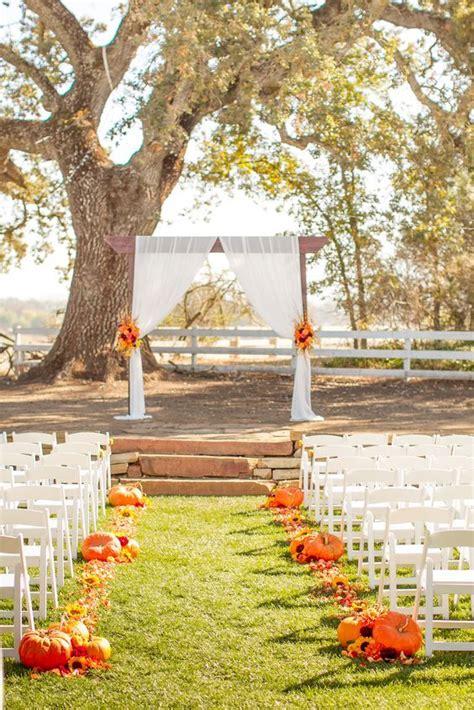 7 Ideas For A Fall Wedding by Best 25 Pumpkin Wedding Ideas On Pumpkin