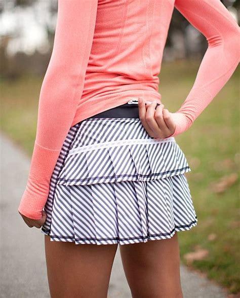 8 running skirt with ruffles 22 adorable running
