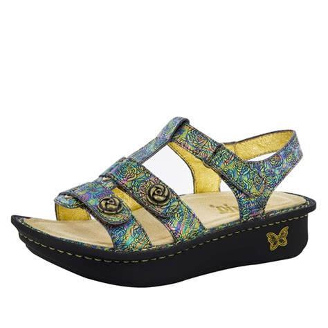 alegria shoe shop alegria kleo abalone sandal the original alegria