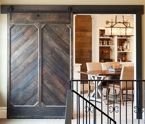 Home Barn Doors 20 Home Offices With Sliding Barn Doors