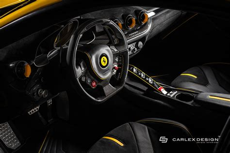 ferrari yellow interior ferrari ff gets four doors in new rendering autoevolution