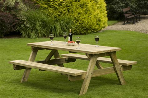 backyard table how to clean wooden garden furniture saga garden bench
